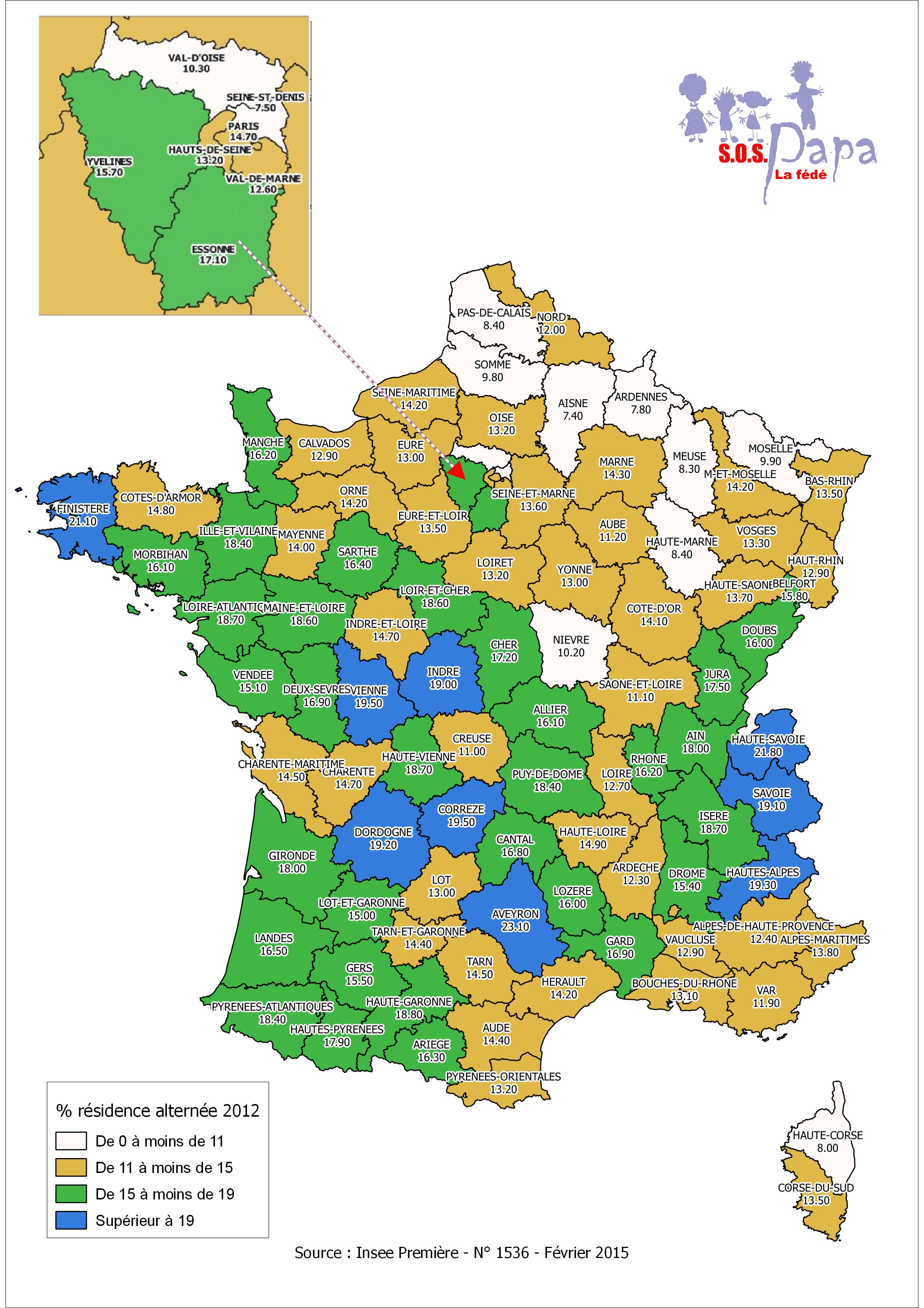 Carte Rsidence Alterne